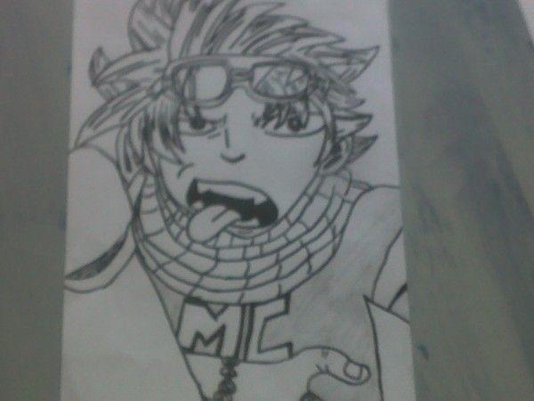 dessin manga graffiti